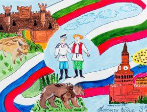 Пирожок В. Дружба двух государств