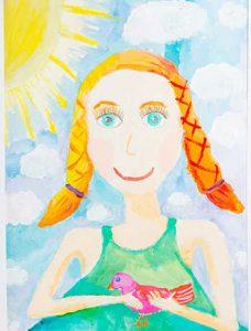 Ханипова Е. Портрет. Весна