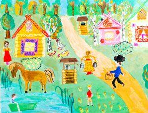 Бурцева Е. Лето в деревне